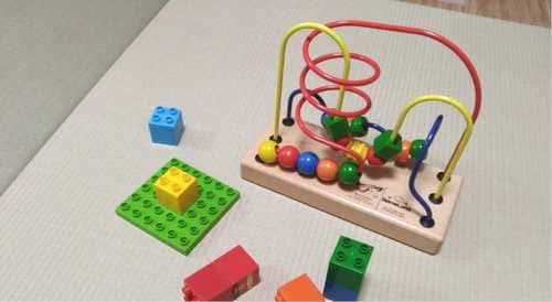 MIGUSAは子供用のプレイマットとしても使える
