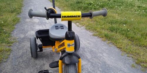 三輪車なのにデザインがいい