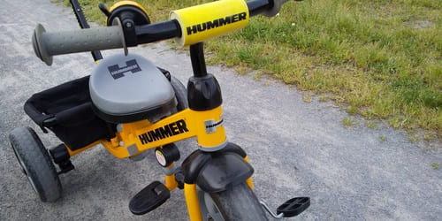 HUMMER三輪車のスペック