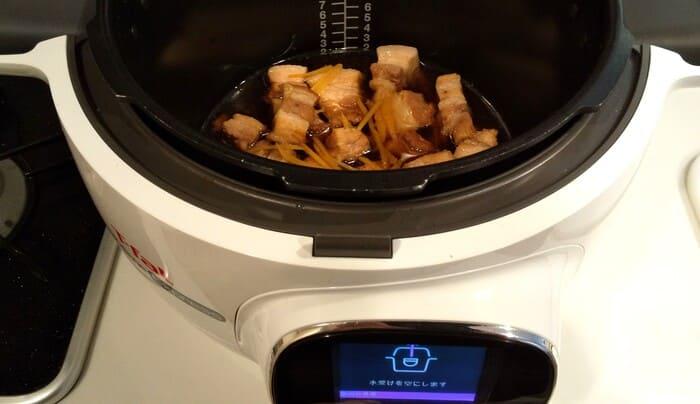 豚の角煮(クックフォーミー)