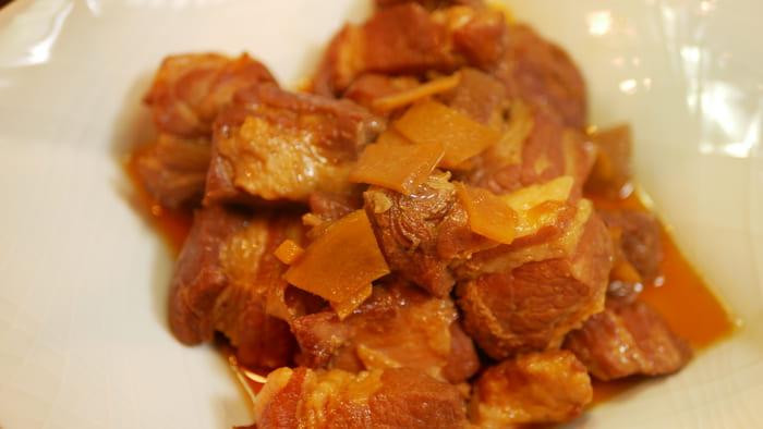 クッキングプロで作った豚の角煮