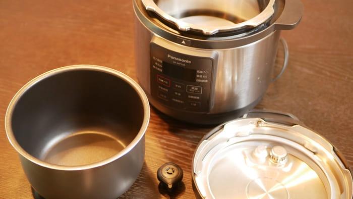 パナソニック電気圧力鍋「SR-MP300」は部品も少ないのでメンテナンスもしやすい