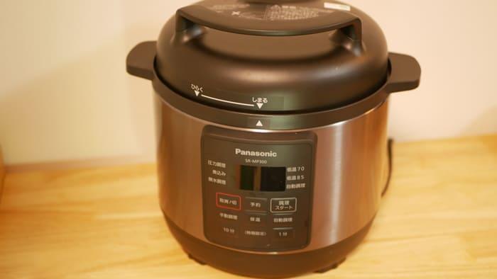 パナソニック電気圧力なべ「SR-MP300」で作れるレシピはいろいろ