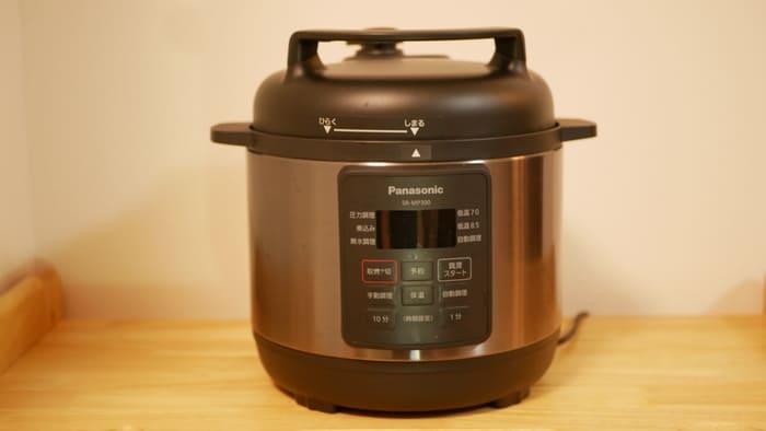パナソニック電気圧力鍋「SR-MP300」はどのくらいの大きさ?