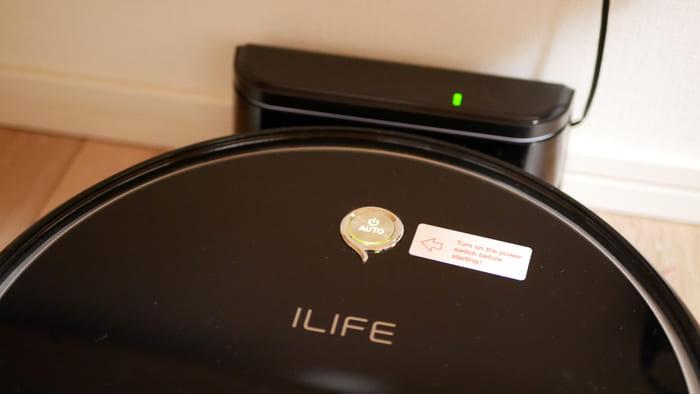 ILIFE「A6」は自動充電される