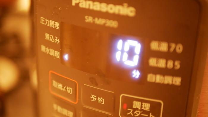 電気圧力鍋の調理時間は注意が必要