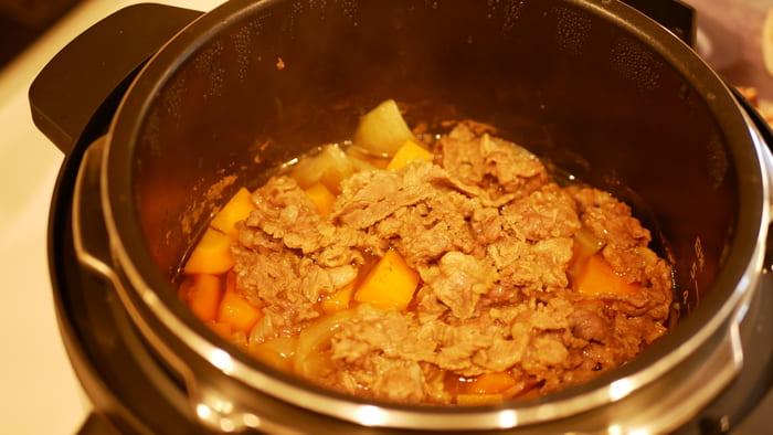 自動調理はほったらかしで料理ができる