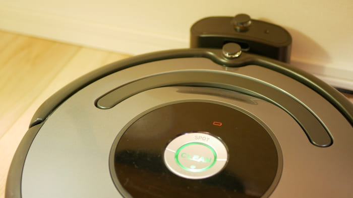 ルンバ643は自動帰還、自動充電