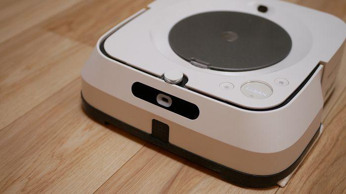 ブラーバジェットm6は未来的なロボット掃除機です