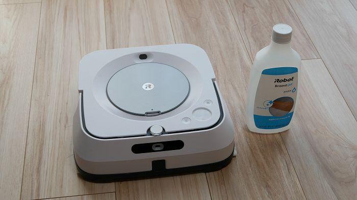 ブラーバジェットm6と専用洗剤