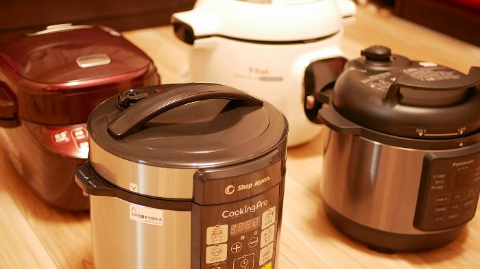 電気圧力鍋の性能比較