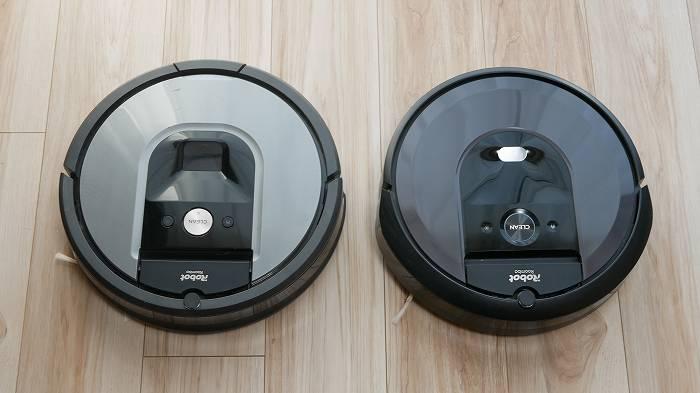 ルンバ960(左)とルンバi7(右)だったらどっちを買うか?