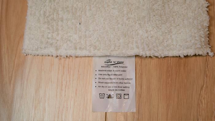 steamGo専用の雑巾(専用マイクロファイバー)