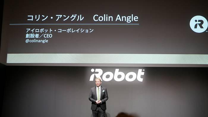 アイロボット社の創設者Colin Angle(コリン・アングル)氏