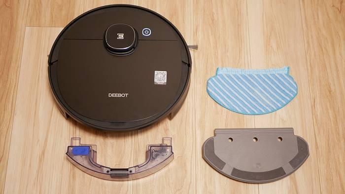 DEEBOT OZMO 950は吸引も水拭きも可能