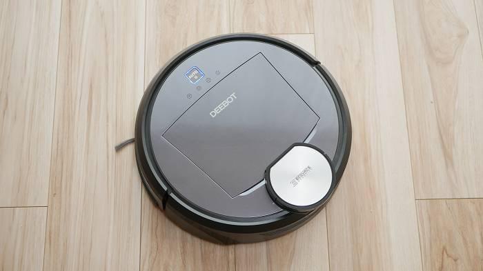 ロボット掃除機としての機能だけで見ると、特筆すべき点もないのがエコバックス「DEEBOT R98」の特徴ではある