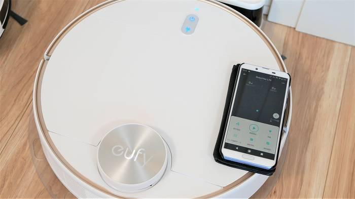 Eufy「RoboVac L70 Hybrid」はスマホアプリが充実しています