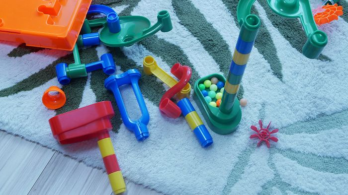 おもちゃは常に散乱している・・・