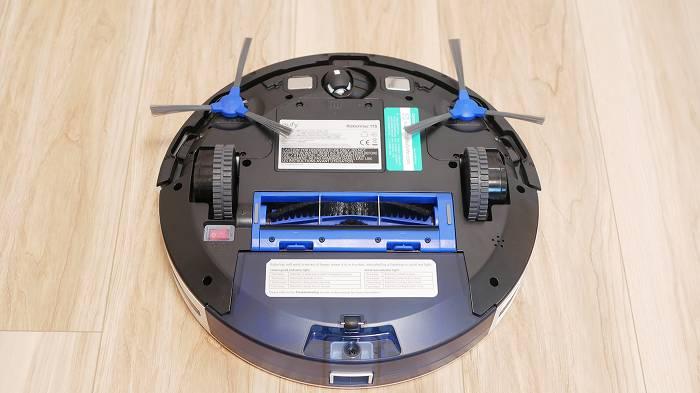 Eufy RoboVac 11Sはサイドブラシが2つ備わっている