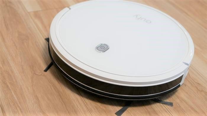 Eufy RoboVac 11Sは薄型でデザインもスタイリッシュなモデル