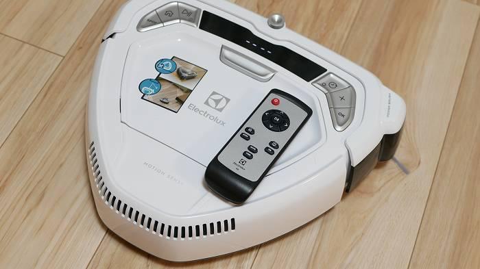 Electrolux「Motionsense(ERV5210IW)」はリモコン操作がメイン